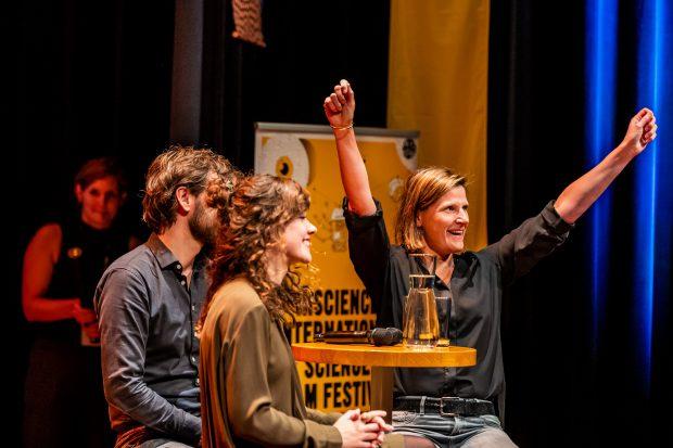 Winnaar Klokhuis Wetenschapsprijs 2019, opening Film Festival InScience Junior - c Marcel Krijgsman